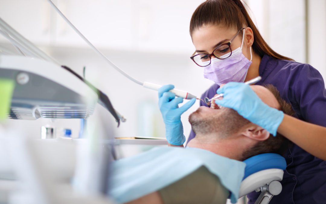 Paciente con dentista